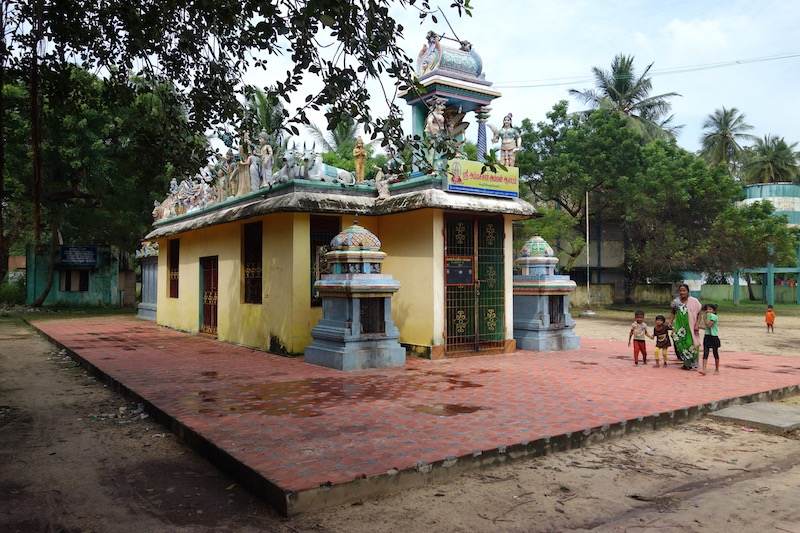 temple with Gopurams